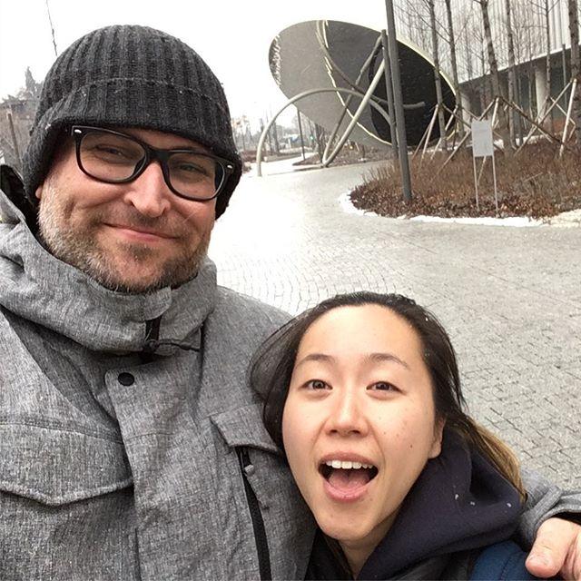 Had a fun time in Korea with Jiwon!