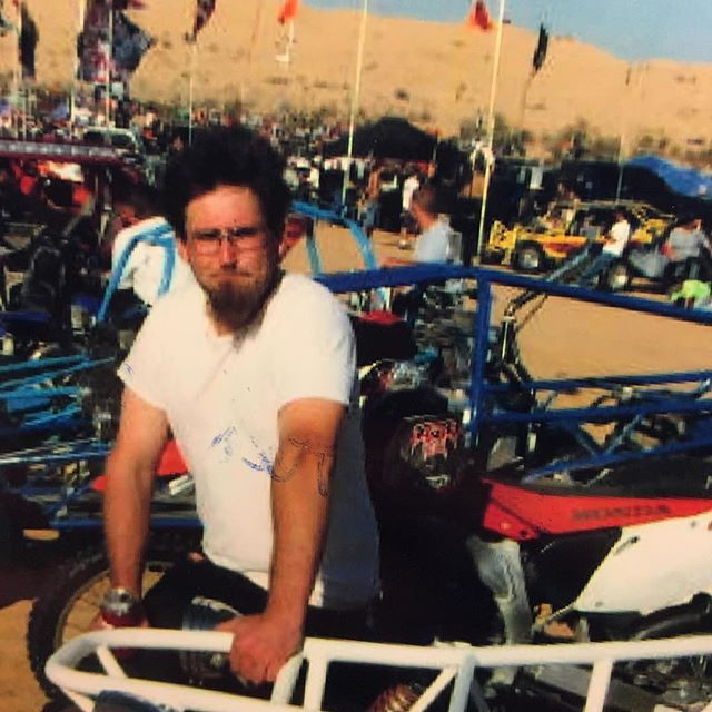 Back in the day. Glamis Sand Dunes, CA.