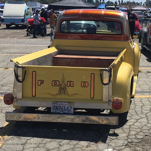 Saw a few old cars and truck at the Pamona swap meet and classic car show today.