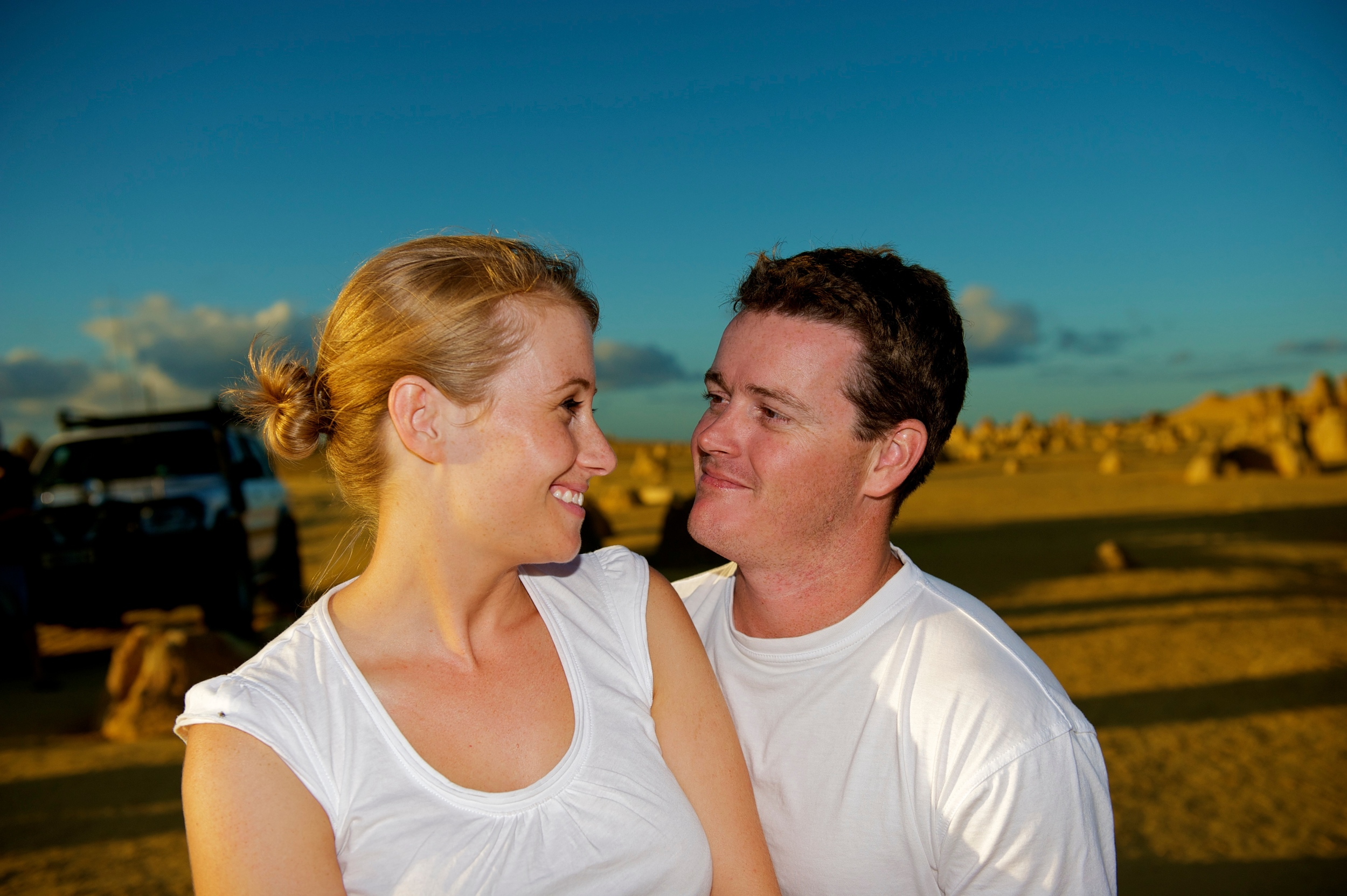 Cervantes in Western Australia is a fantasic location for a country wedding and engagement photography