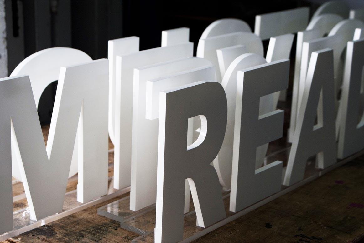 3D Signages