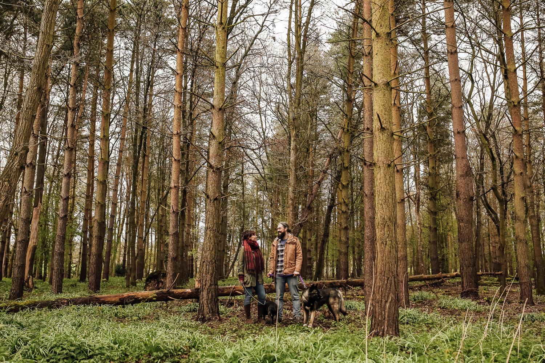 Shropshire Engagment Shoot Attingham -3.jpg