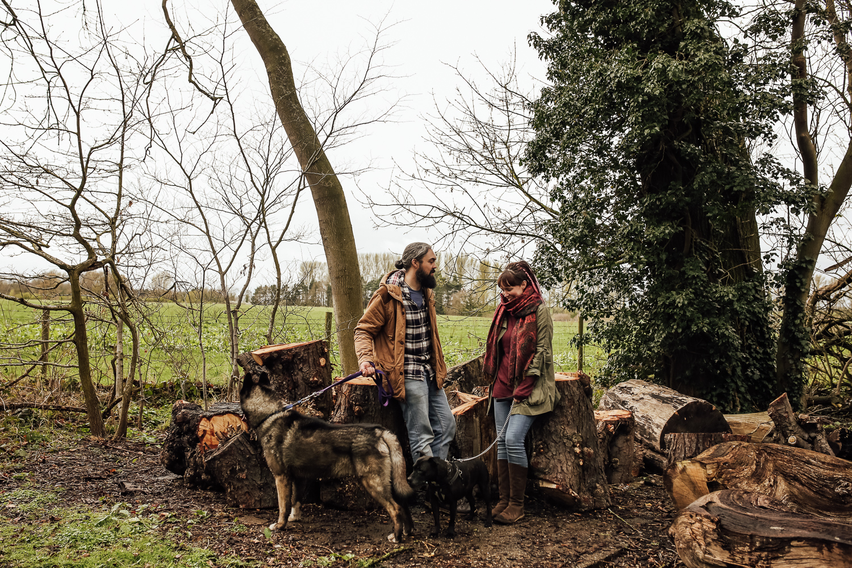 Shropshire Engagment Shoot Attingham -5.jpg