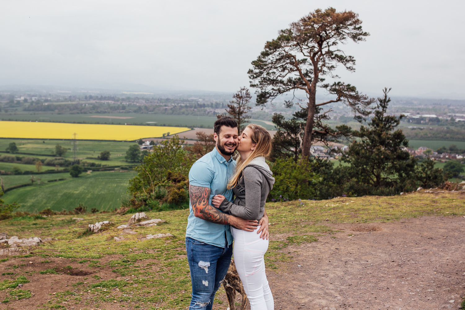 Haughmond Hill Engagement Shoot-6.jpg