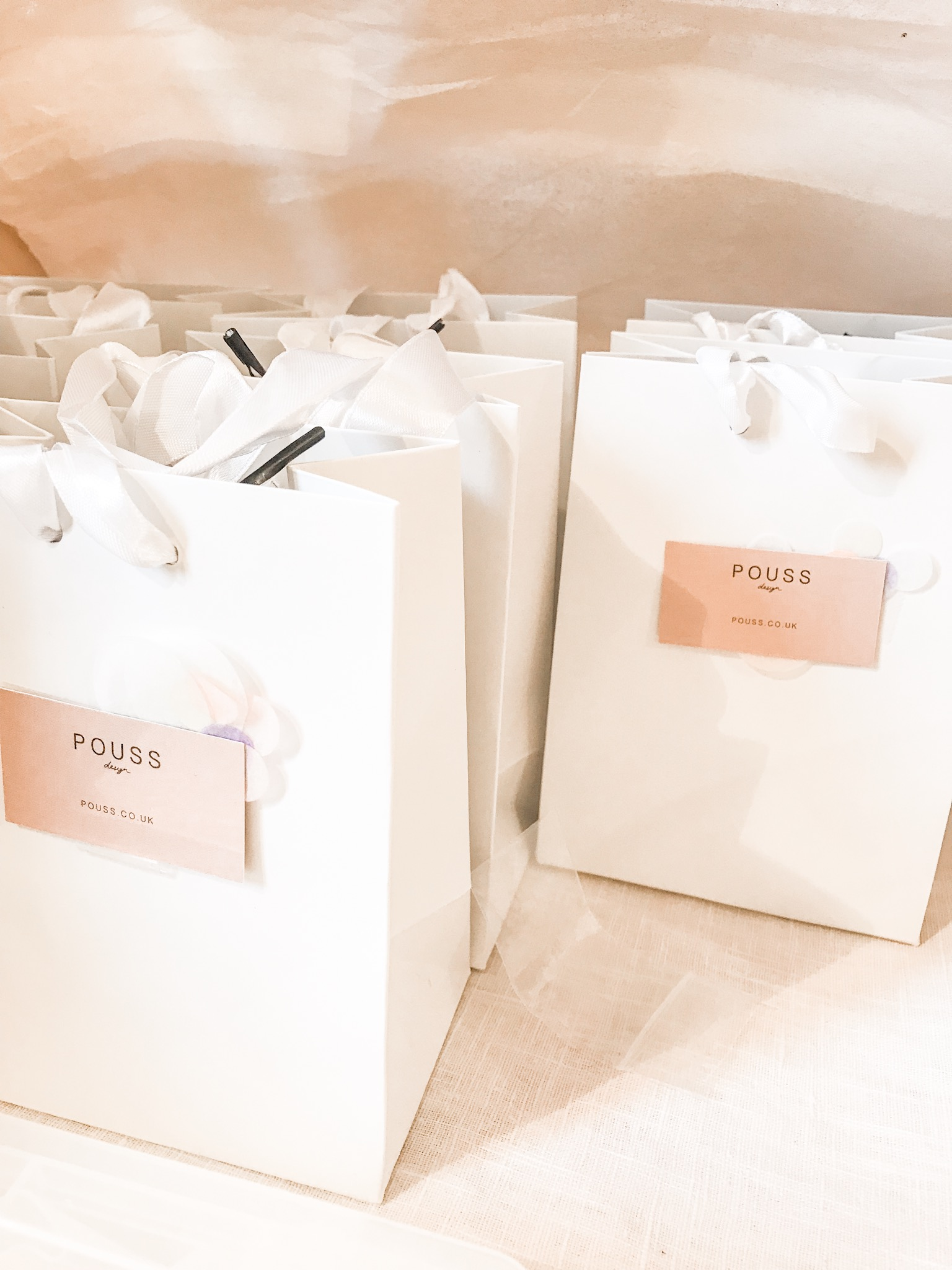 Pouss Jewellery Design gift bags gift market 2018