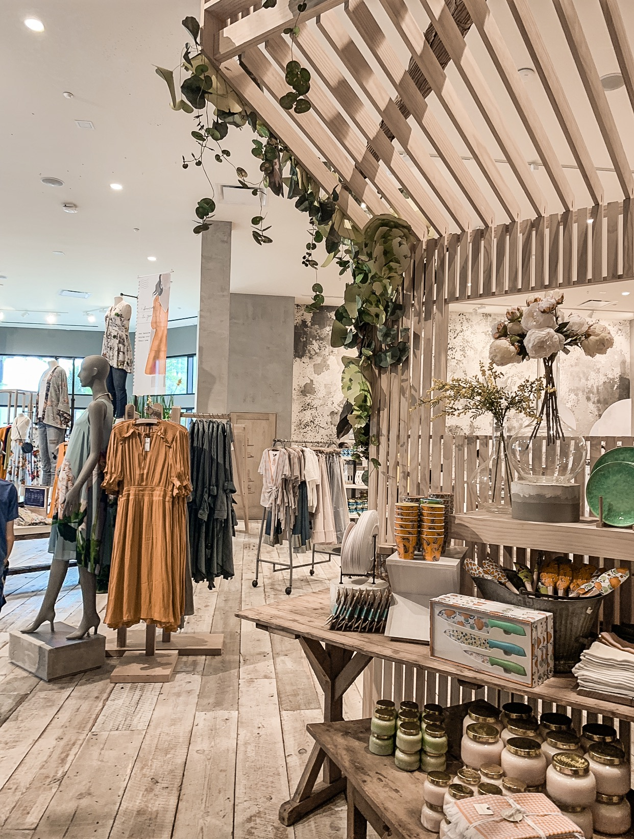Interior of  Anthropologie , Orlando, Florida, USA taken in April 2019