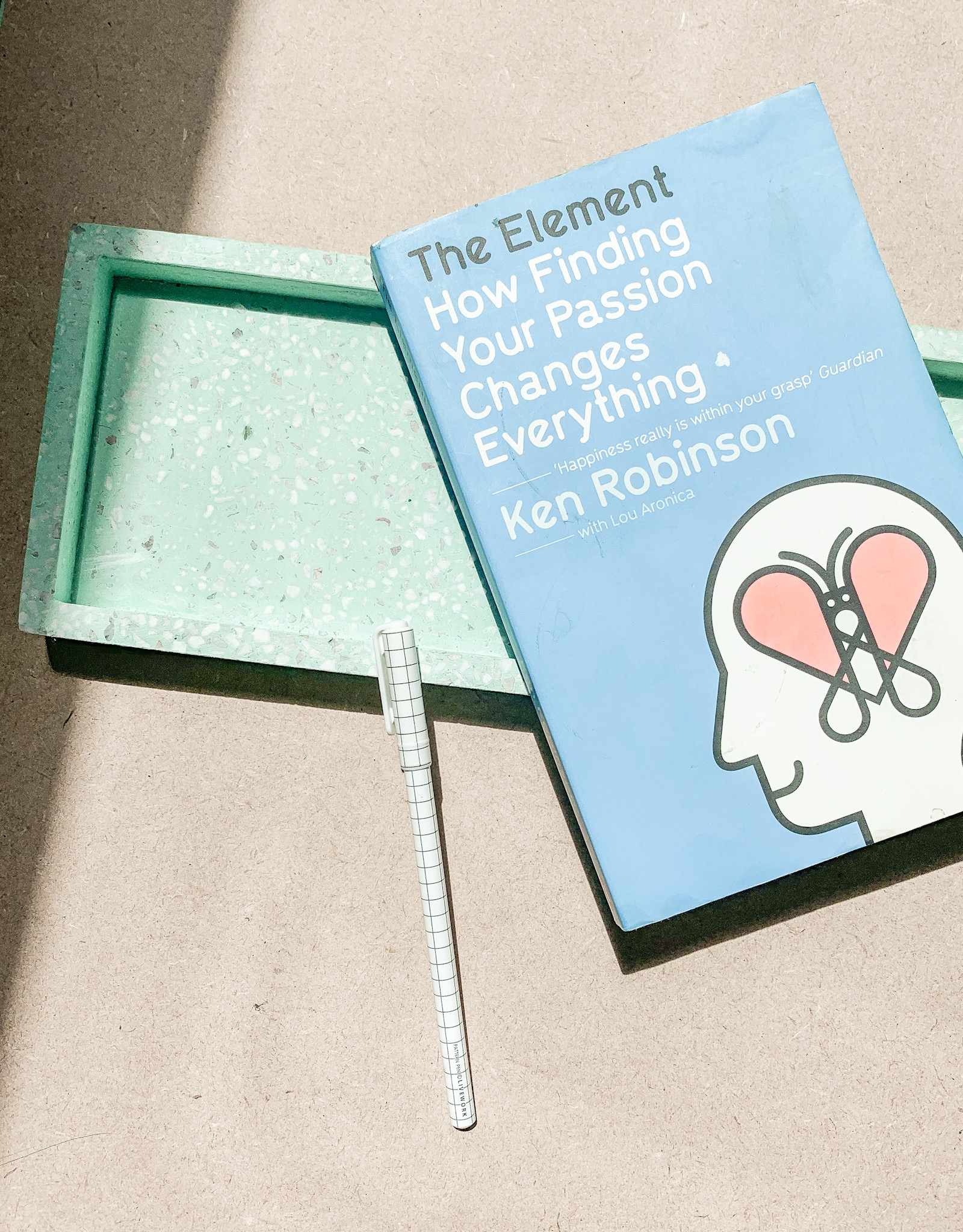 Pouss Design creative small business books Ken Robinson Your Passion Changes Everything