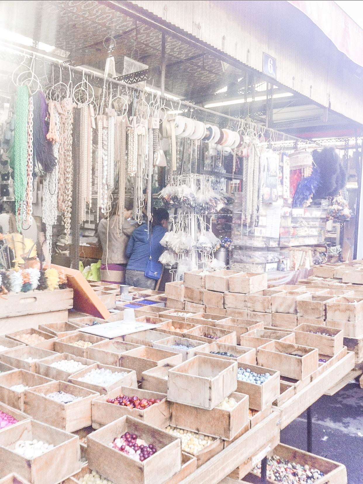 market stall Paris