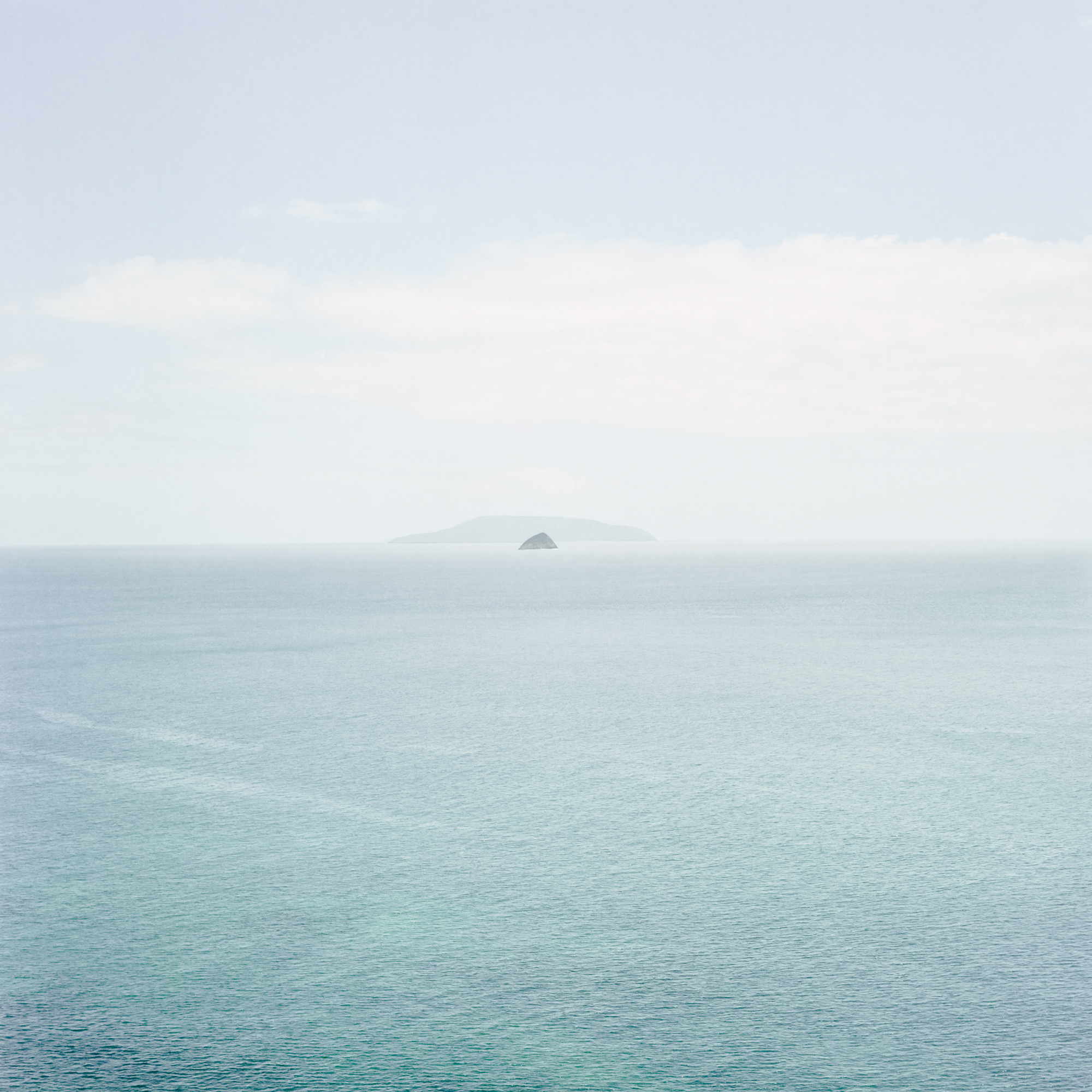 Trace I (Looking Forward, Horizon Islands)   2015  Archival Pigment Print on matte photo rag  918mm x 918mm Edition of 5  280mm x 280mm Edition of 12