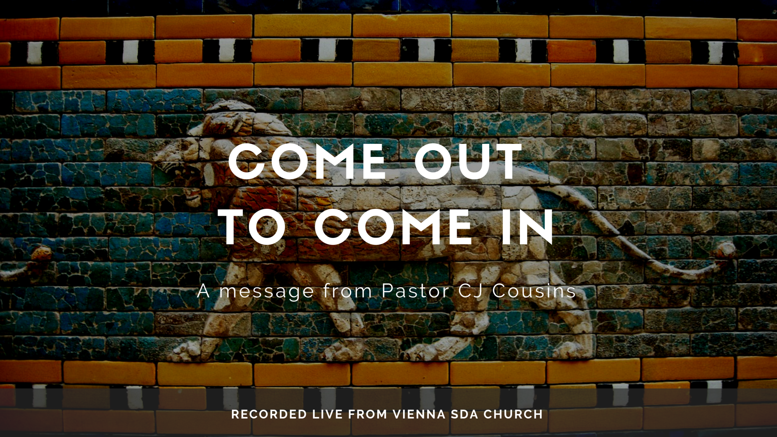 Watch Sermon -