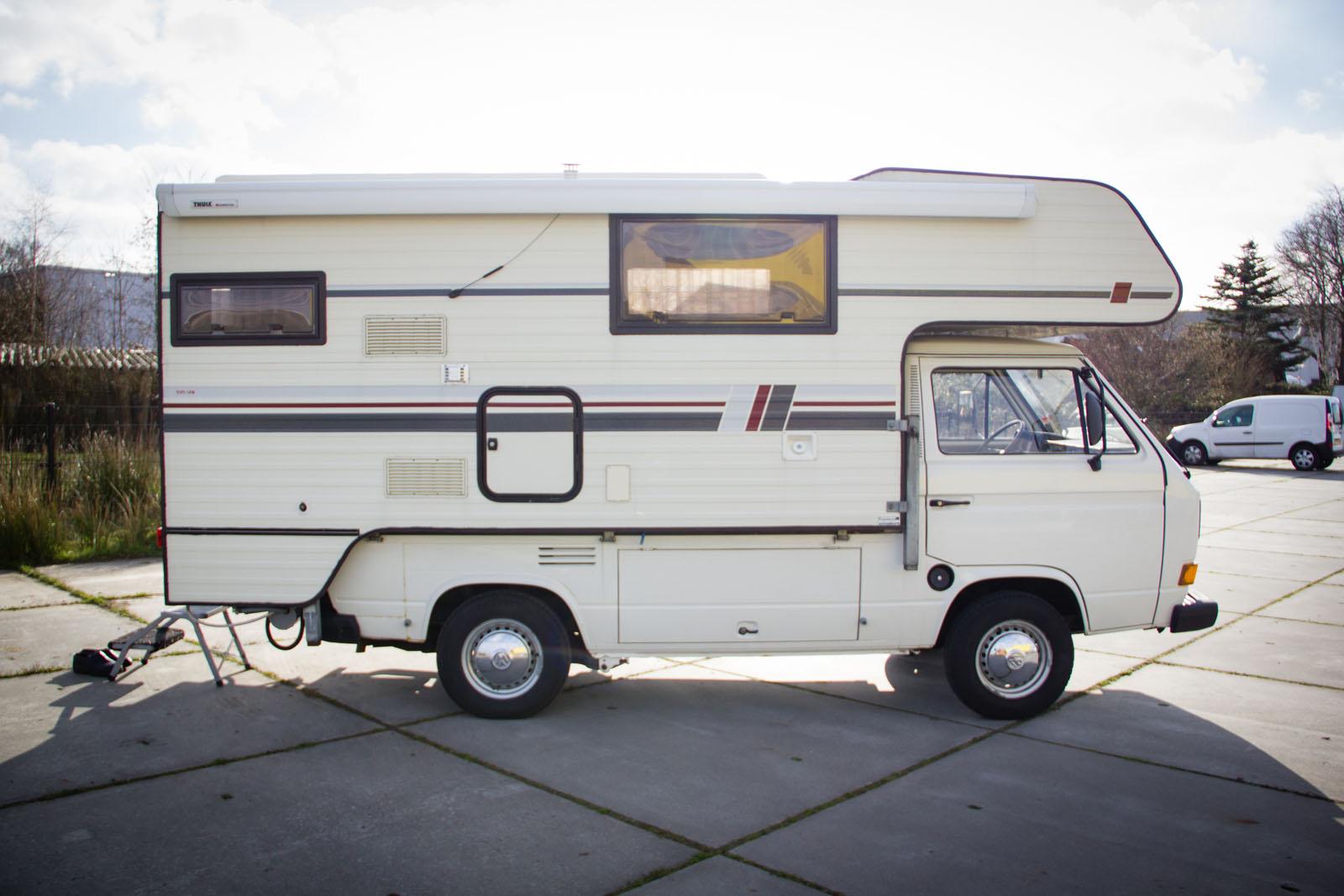 Volkswagen Transporter T2 Pick up Camper