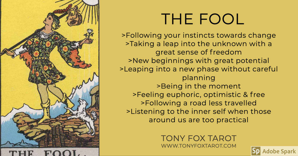 Key Meanings of The Fool