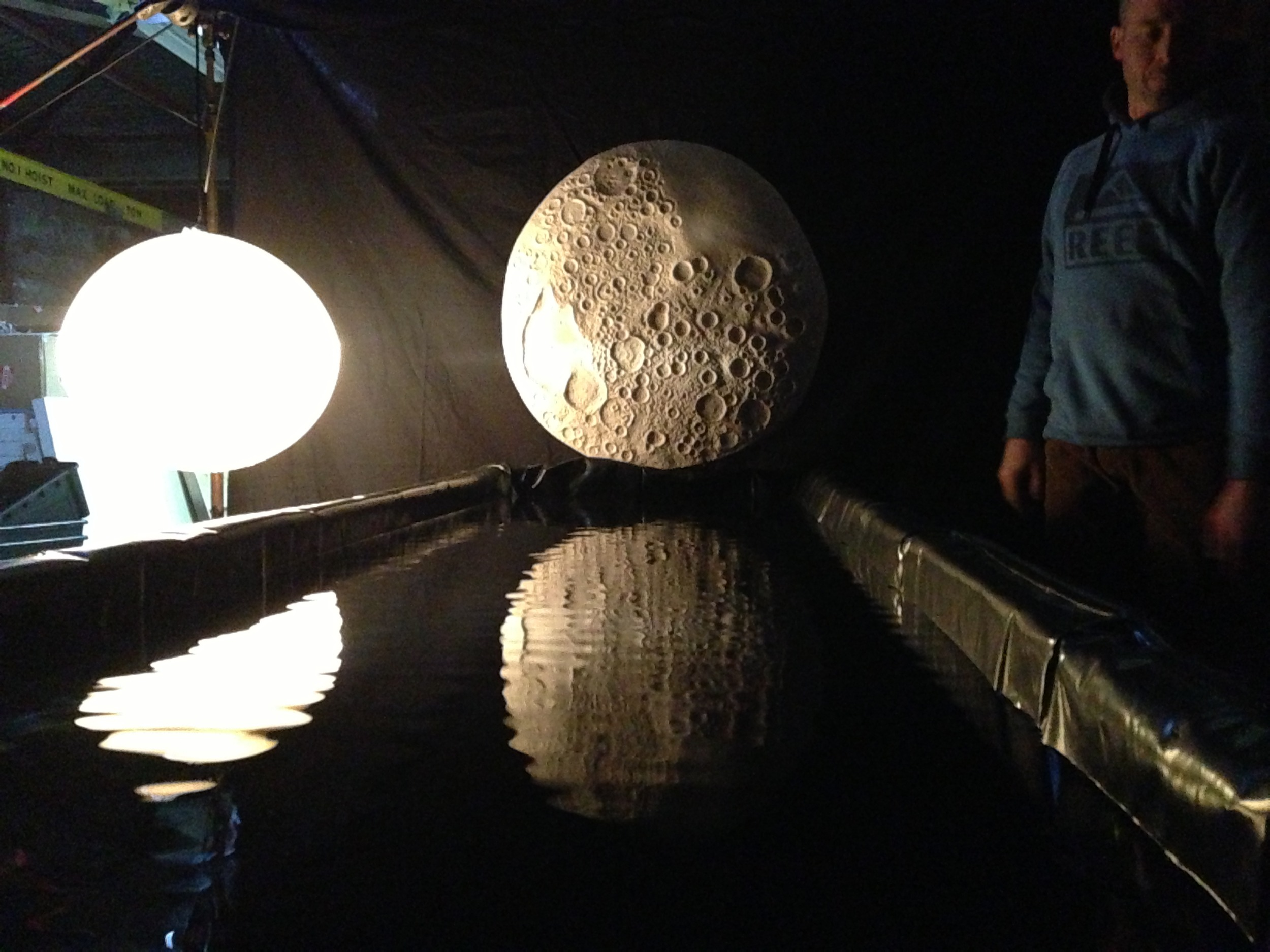 1/4 scale lighting, water and reflection test