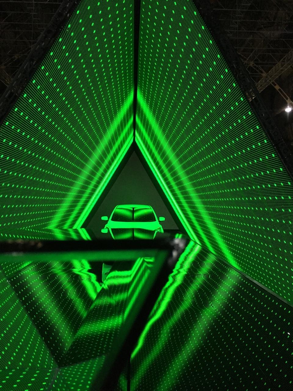 Kaleidoscope and tunnel