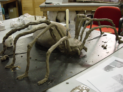 Clay Model of spider