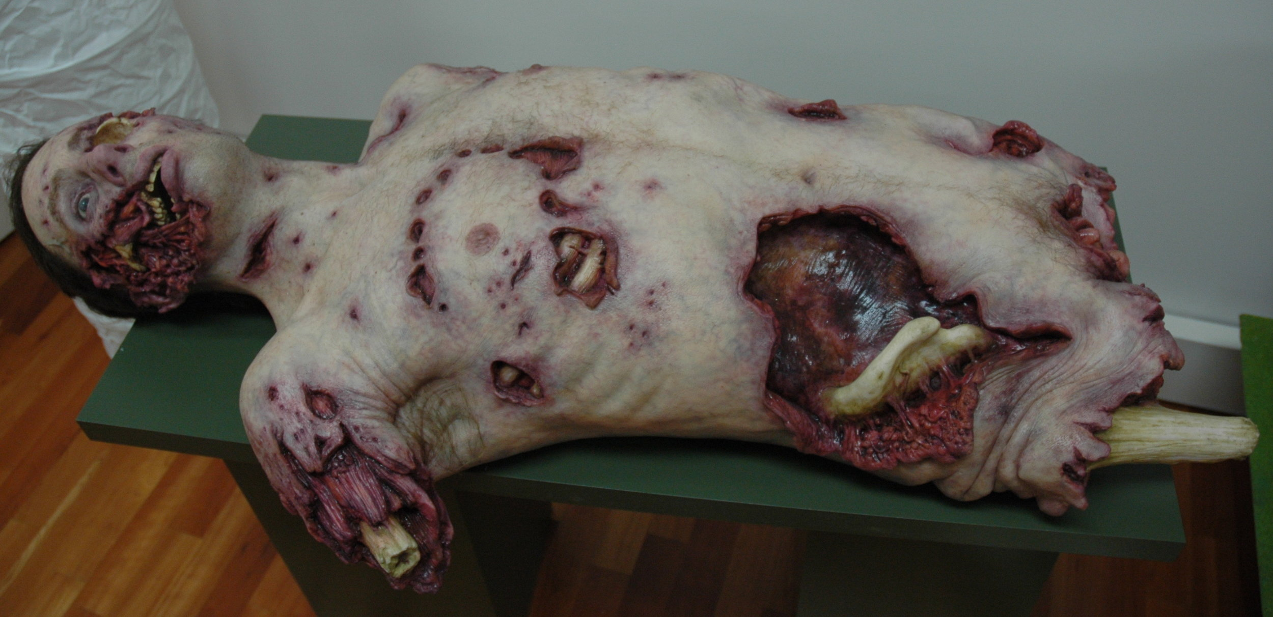 Make-Up Effects Group prosthetic torso