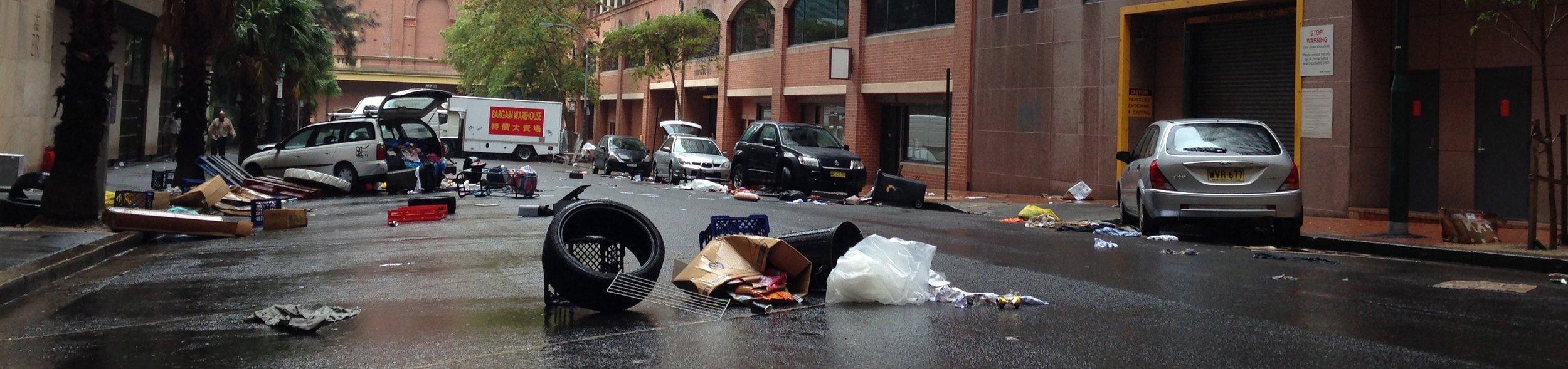 Apocalyptic City Street
