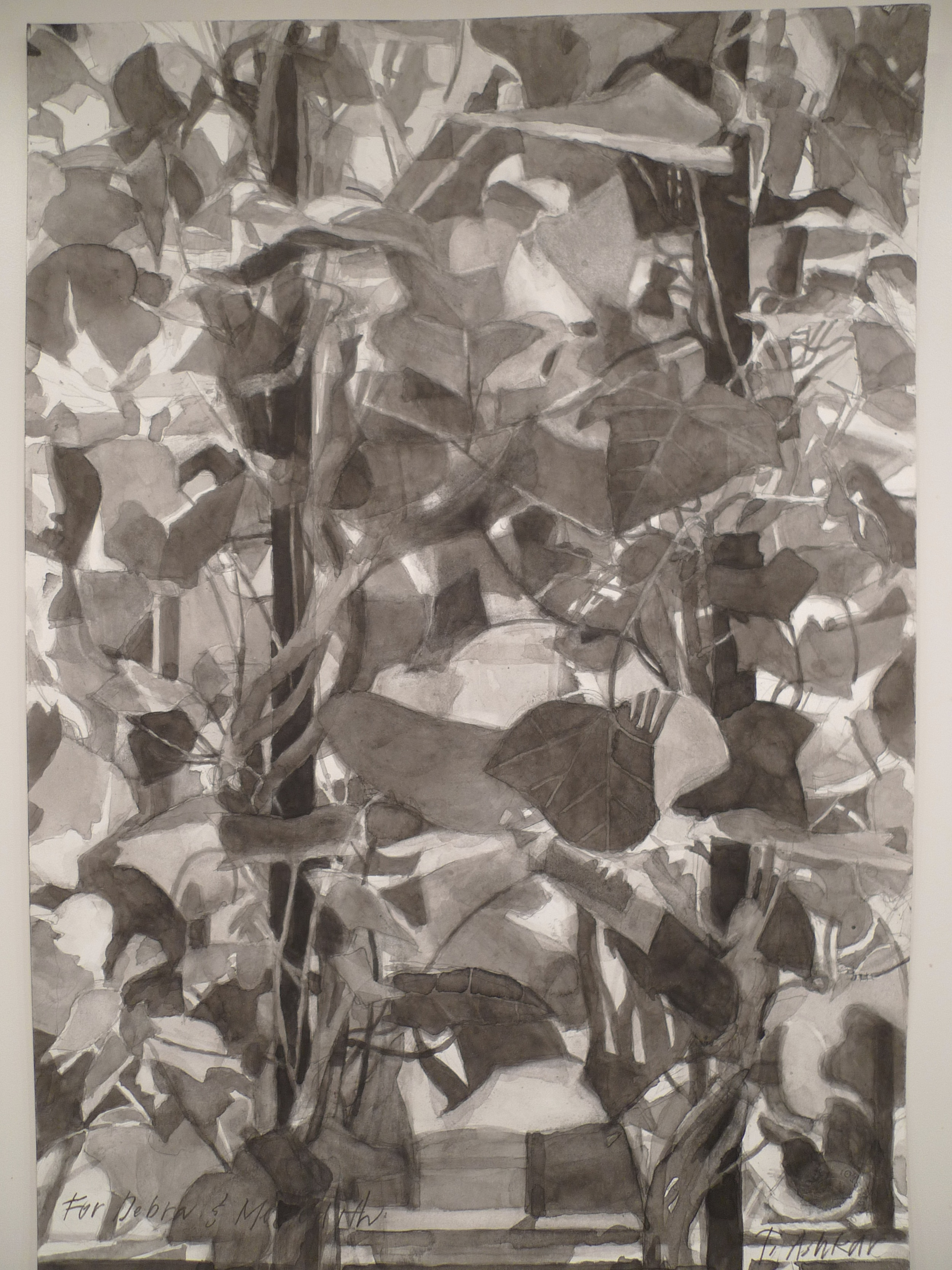 India Ink on Paper 8 x 12 inches Tarek Ashkar,2013