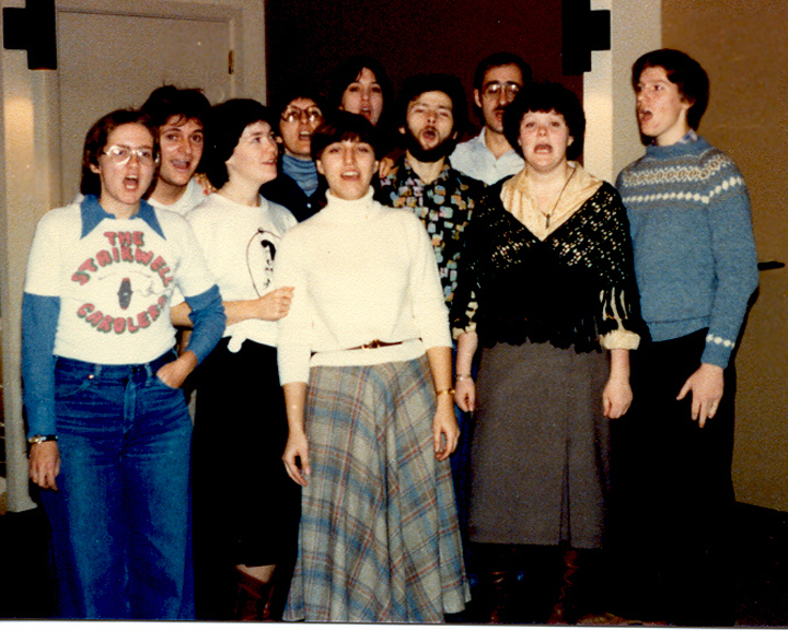 The Stairwell Carollers, 1979