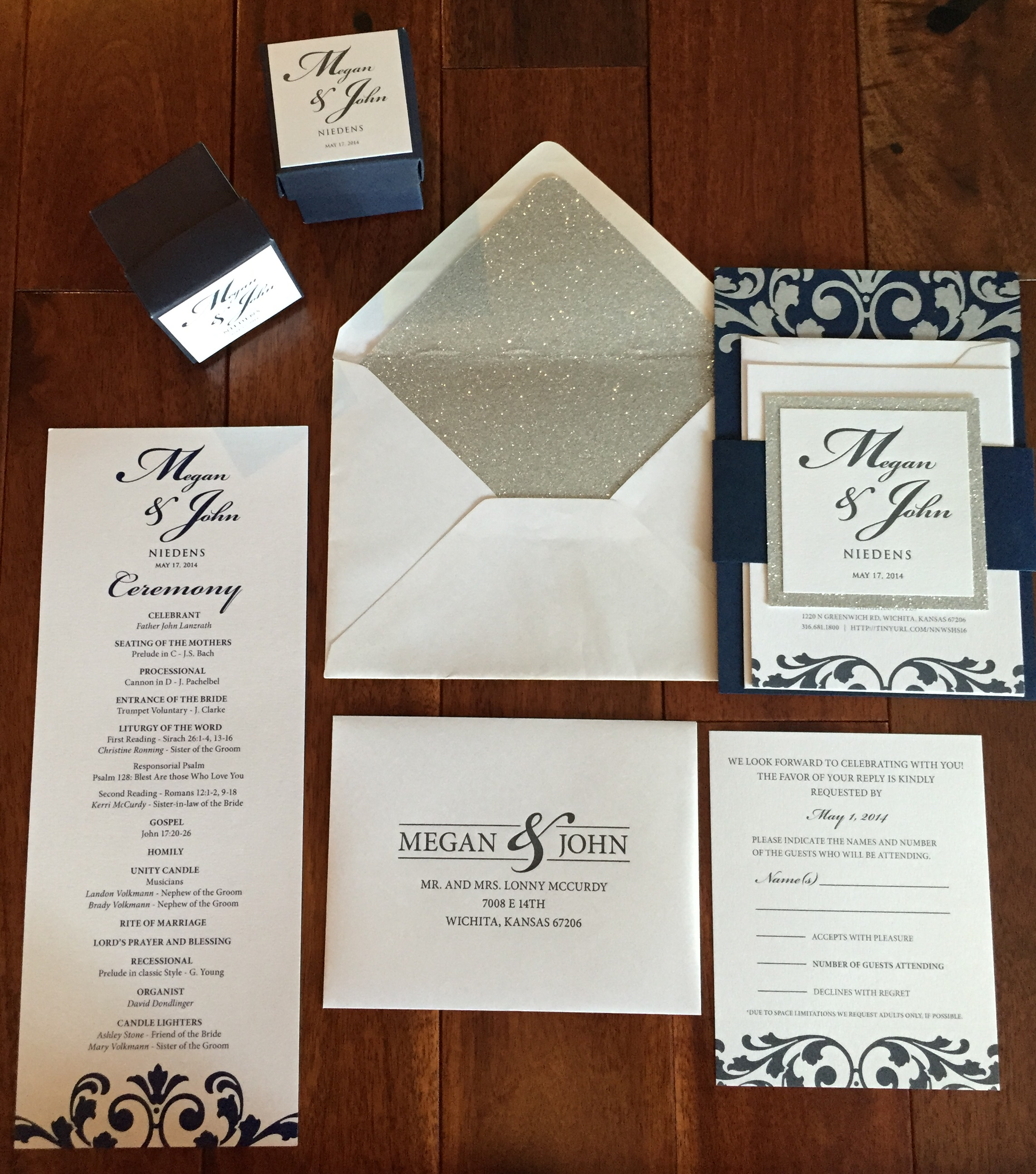 Wichita Event and Wedding Planner | Custom Invitations