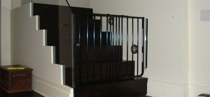 Custom glass mounting available
