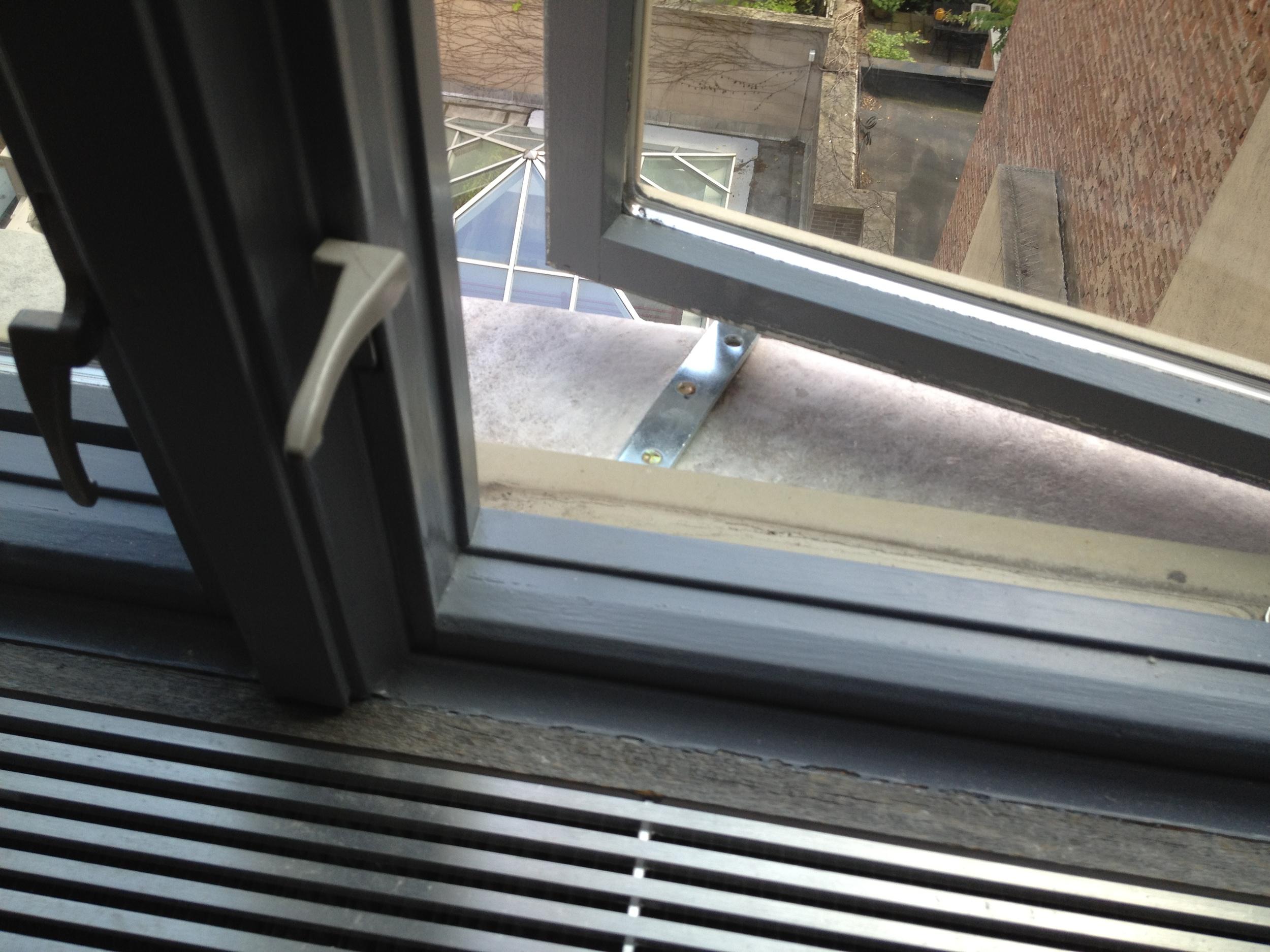 casement window baby proofing