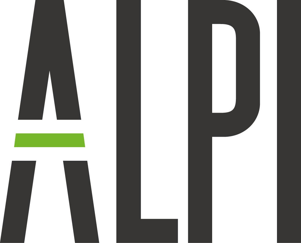 Логотип ALPI, цветной. Для использования только в digital медиа