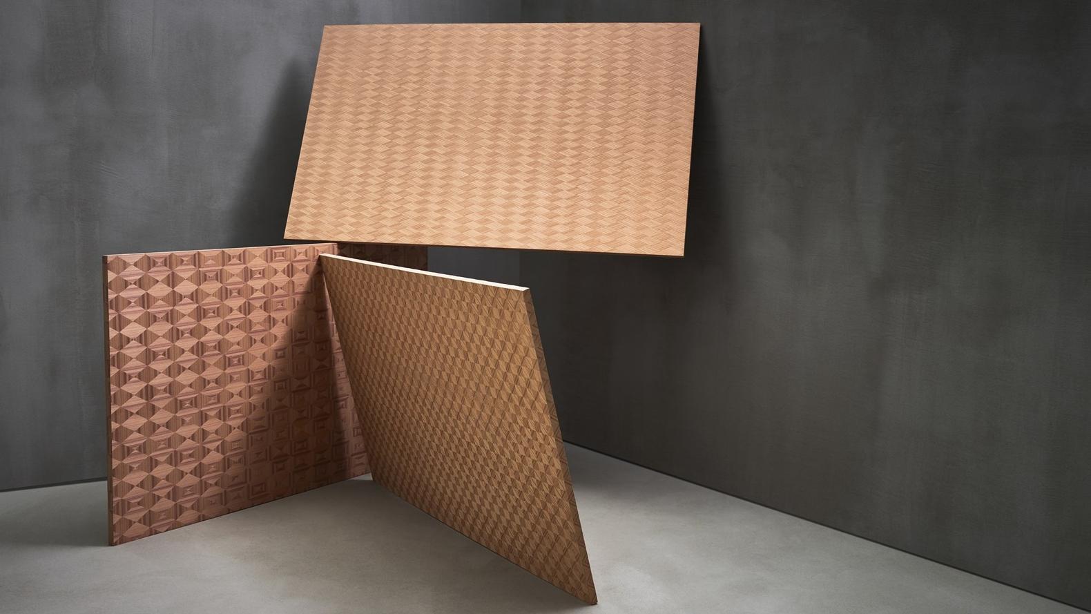 Экспериментальная коллекция - Коллекция состоит из уникальногошпона, который поставляется только под заказ, либо уже снят с производства.