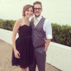 All snazzy for the wedding