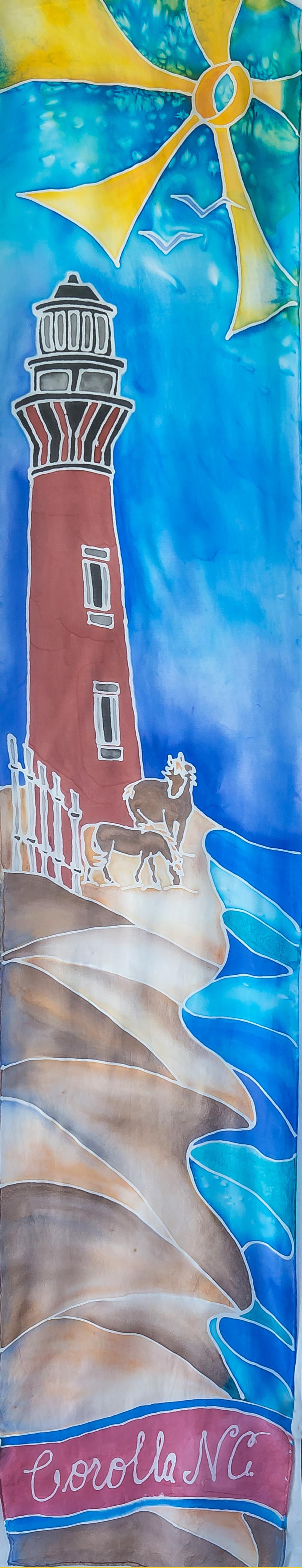 "Currituck Lighthouse 14""x72"" $75"