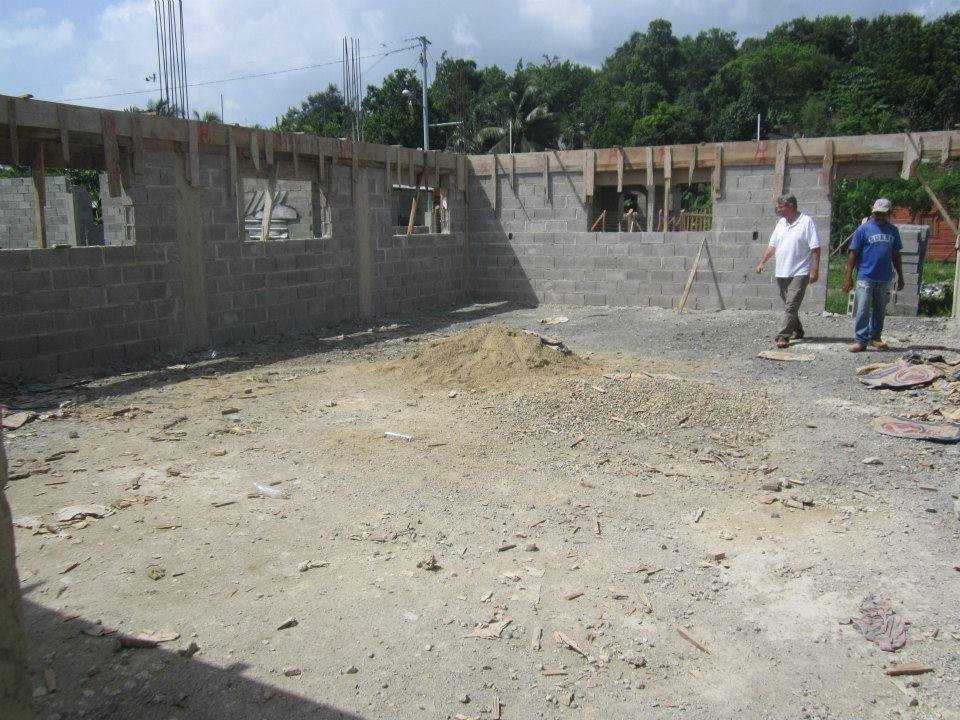 Construction of Rose of Sharon Educational Center