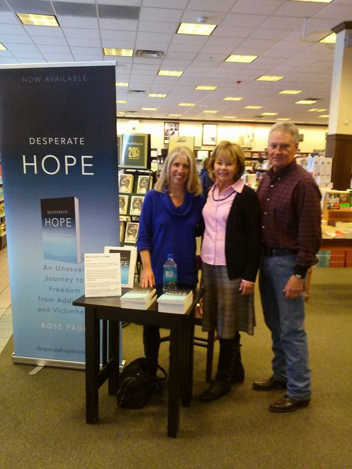 Barnes and Noble signing with Volney and Karen James