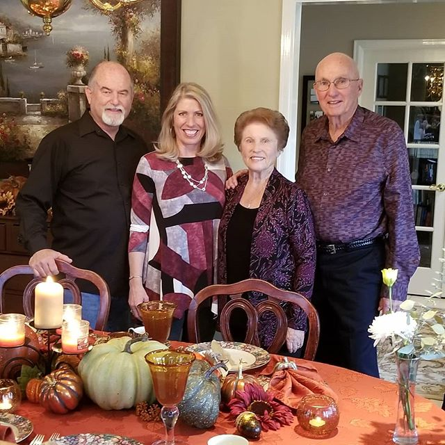 Happy Thanksgiving! Our table is small this year but our hearts are overflowing with gratitude to God for His faithfulness!