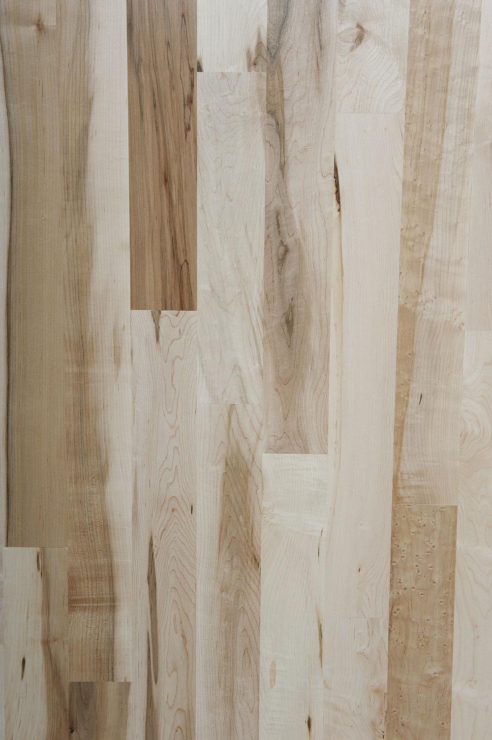 Unfinished Maple Boardwalk Hardwood