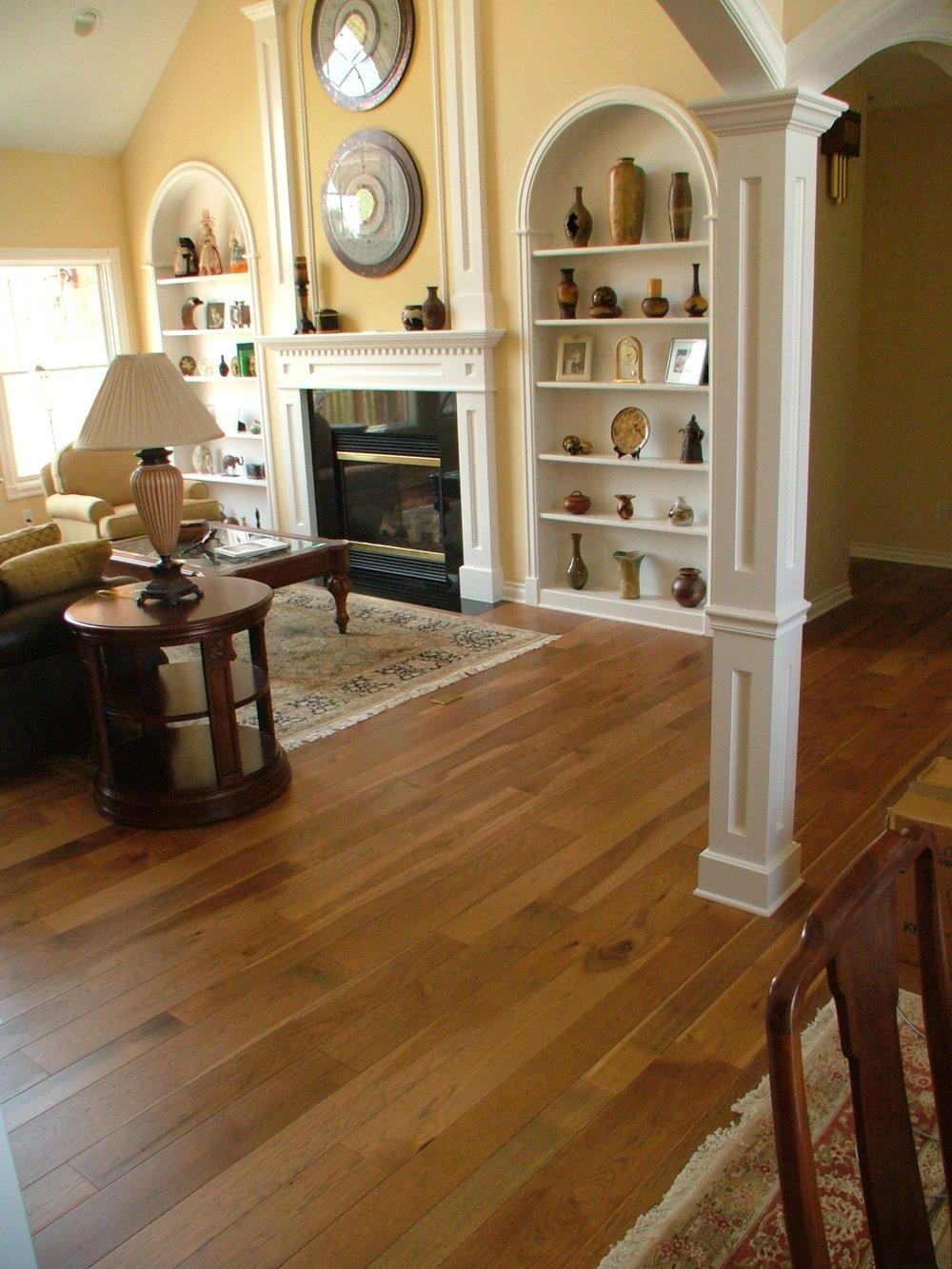 Coffee Hickory Boardwalk Hardwood Floors