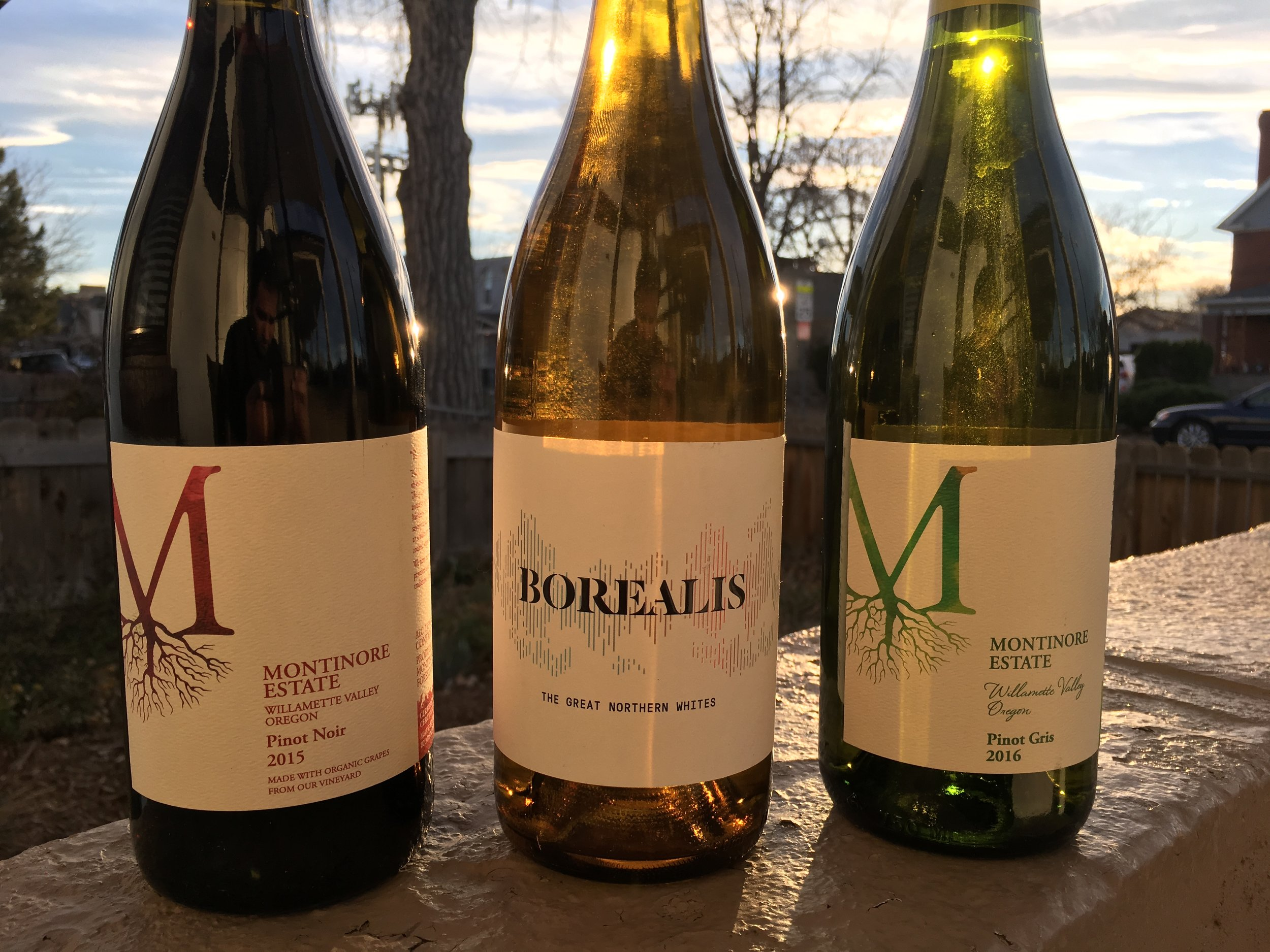 Montinore's Roots Collection - Pinot Noir, White Blend, and Pinot Gris
