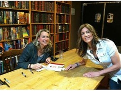 Cheryl Strayed with Janette Turner