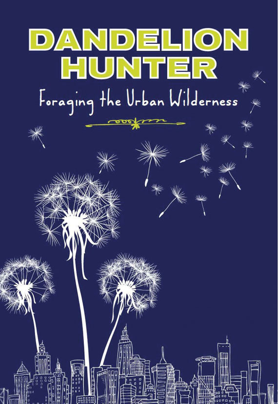 """Here's the blurb about the book: """"In this engaging and eye-opening read, forager-journalist Becky Lerner sets out on a quest to find her inner hunter-gatherer in the city of Portland, Oregon. After a disheartening week trying to live off wild plants from the streets and parks near her home, she learns the ways of the first people who lived there and, along with a quirky cast of characters, discovers an array of useful wild plants hiding in plain sight. As she harvests them for food, medicine, and just-in-case apocalypse insurance, Lerner delves into anthropology, urban ecology and sustainability, and finds herself looking at Nature in a very different way...Humorous, philosophical, and informative,   Dandelion Hunter   has something for everyone, from the curious neophyte to the seasoned forager."""""""