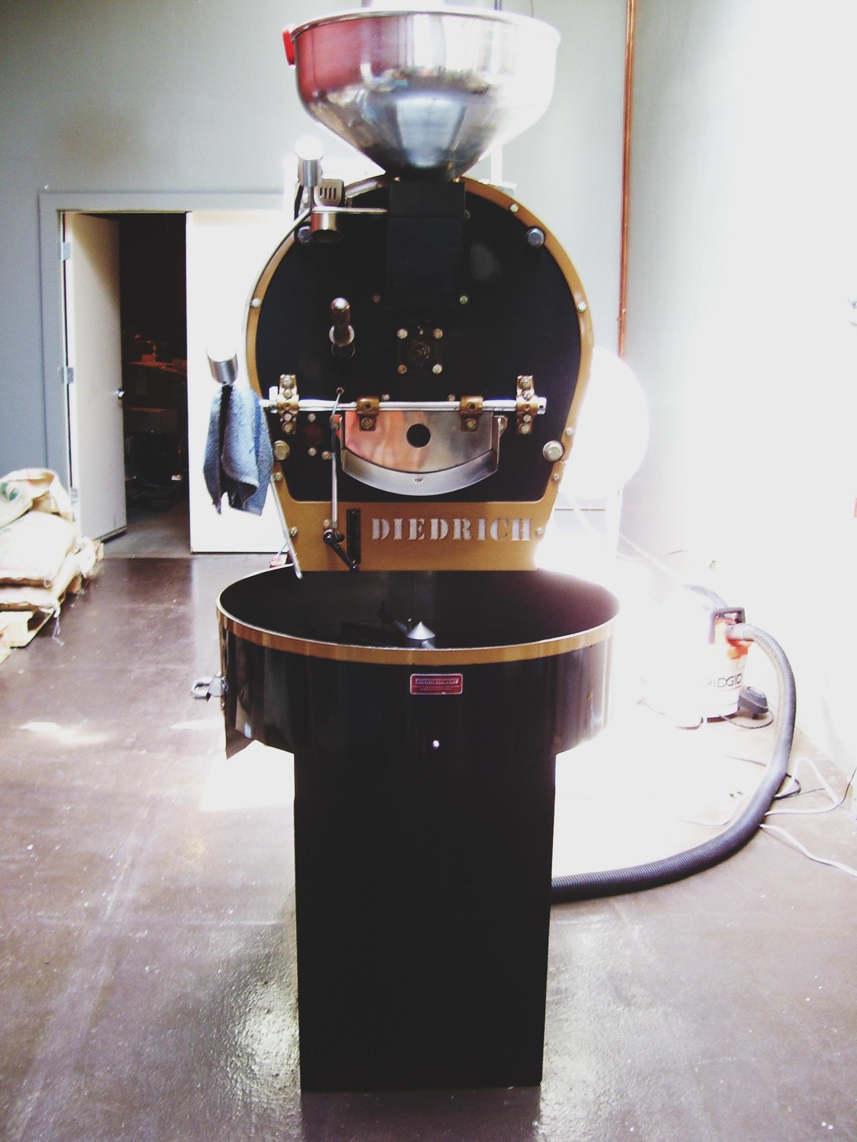 Victrola's drum roaster