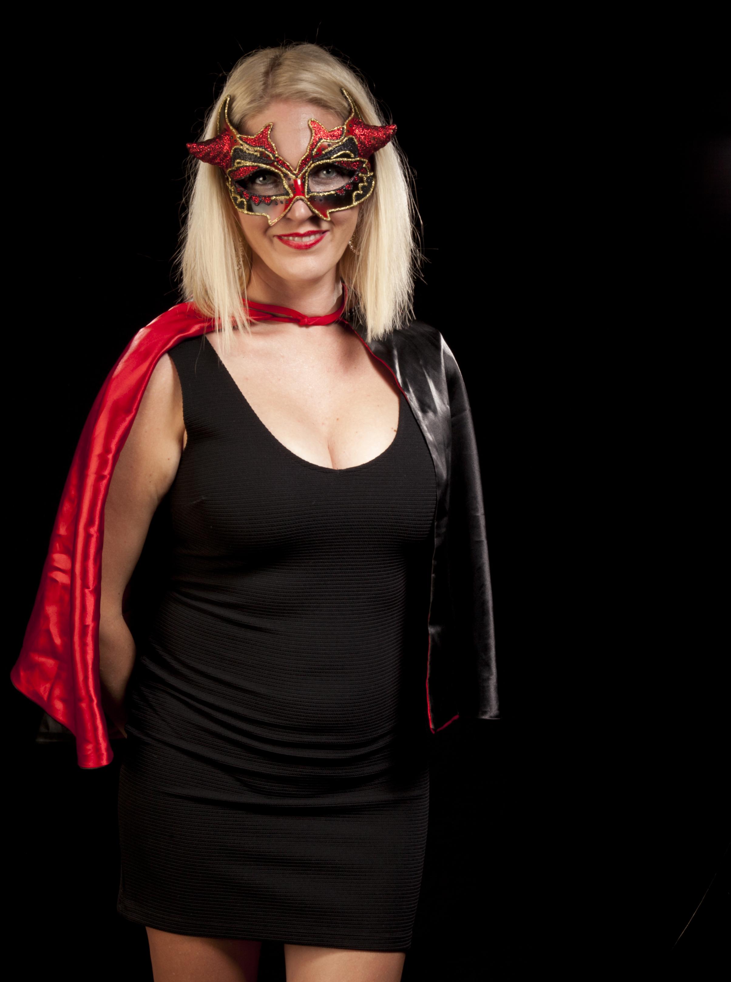 Mrs. Horned hat red capeIMG_4406.jpg