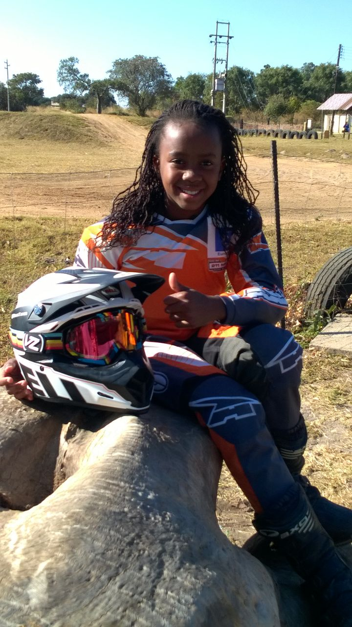 Me and my new Bell Moto 9 helmet