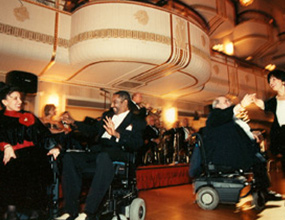 The ICD Freedom of the Human Spirit Awards Dinner at the Waldorf Astoria in 1996.
