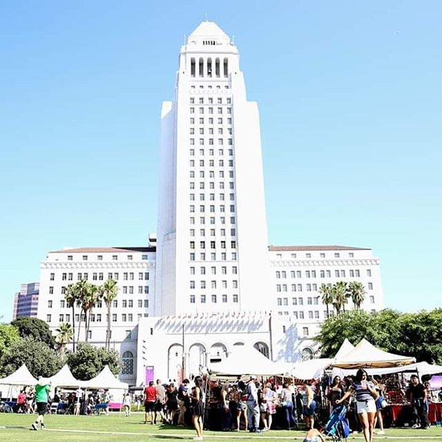 Wondering where to find the LA Taco Festival tomorrow?  The festival will be taking place in front of City Hall at @grandpark_la between Broadway and Spring Street.  You'll find all food trucks and booths on Spring Street.  The music stage, local art vendors, delicious desserts and more will be located within the park  The festival begins at 12 pm! See you there! #latacofest #grandparkla