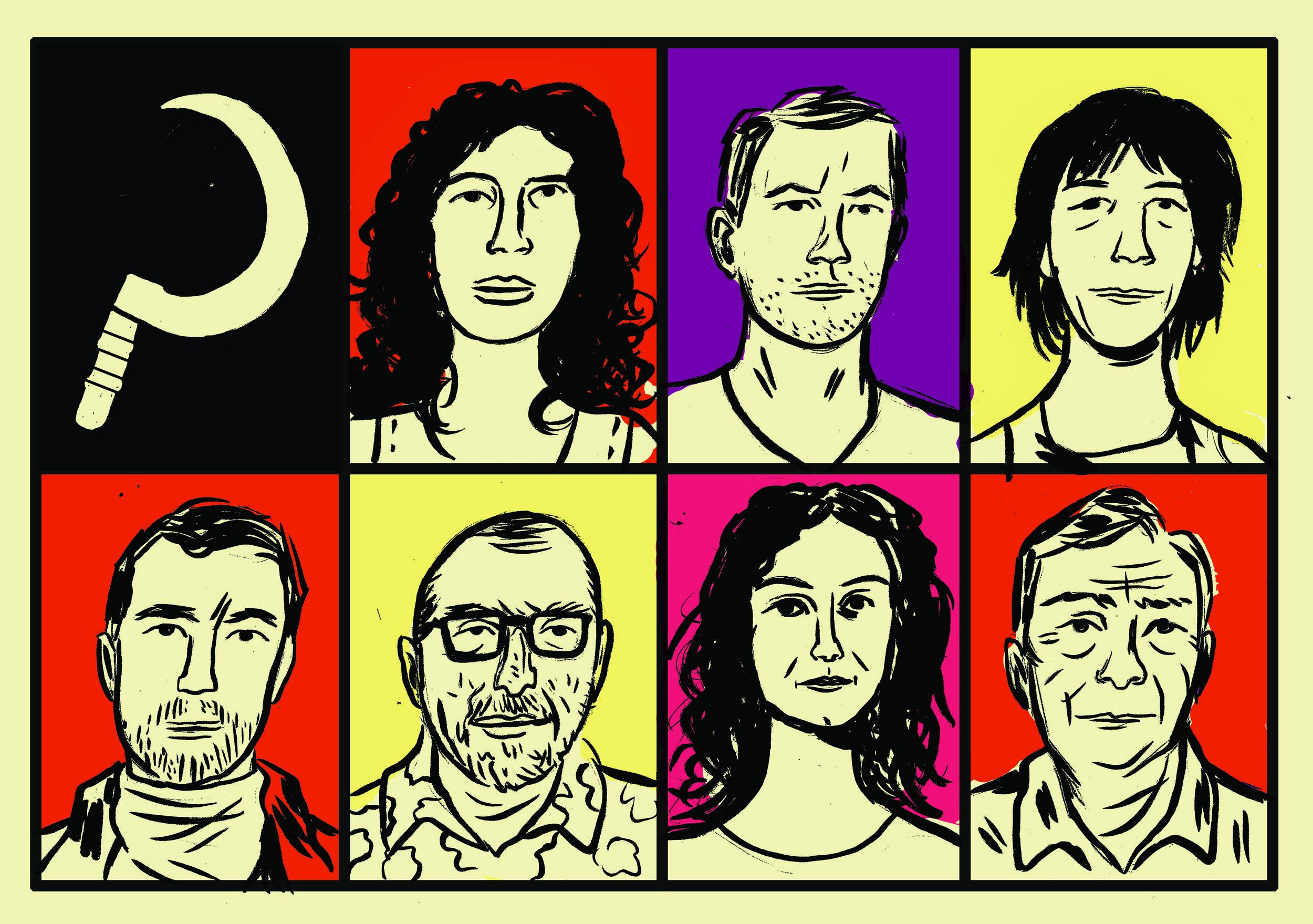 Ana Paula Maia, Carlos Brito e Mello, Noemi Jaffe; Alexandre Soares Silva, Xico Sá, Tatiana Salem Levy, Jaime Prado Gouvêa
