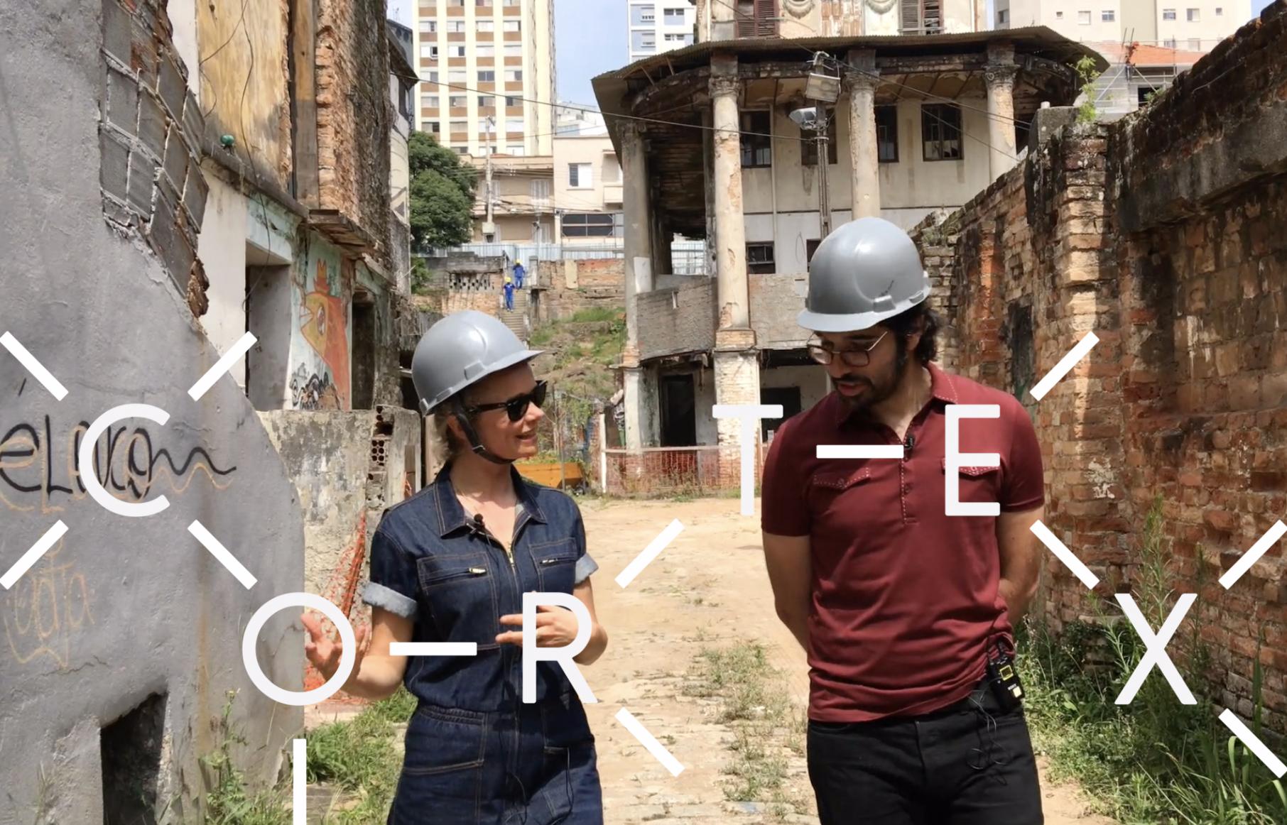 Cérebro, consciência e a realidade do Ego - na Vila Itororó, a cineastas inglesa discute como um derrame cerebral lhe mostrou as alucinações da realidade ordinária