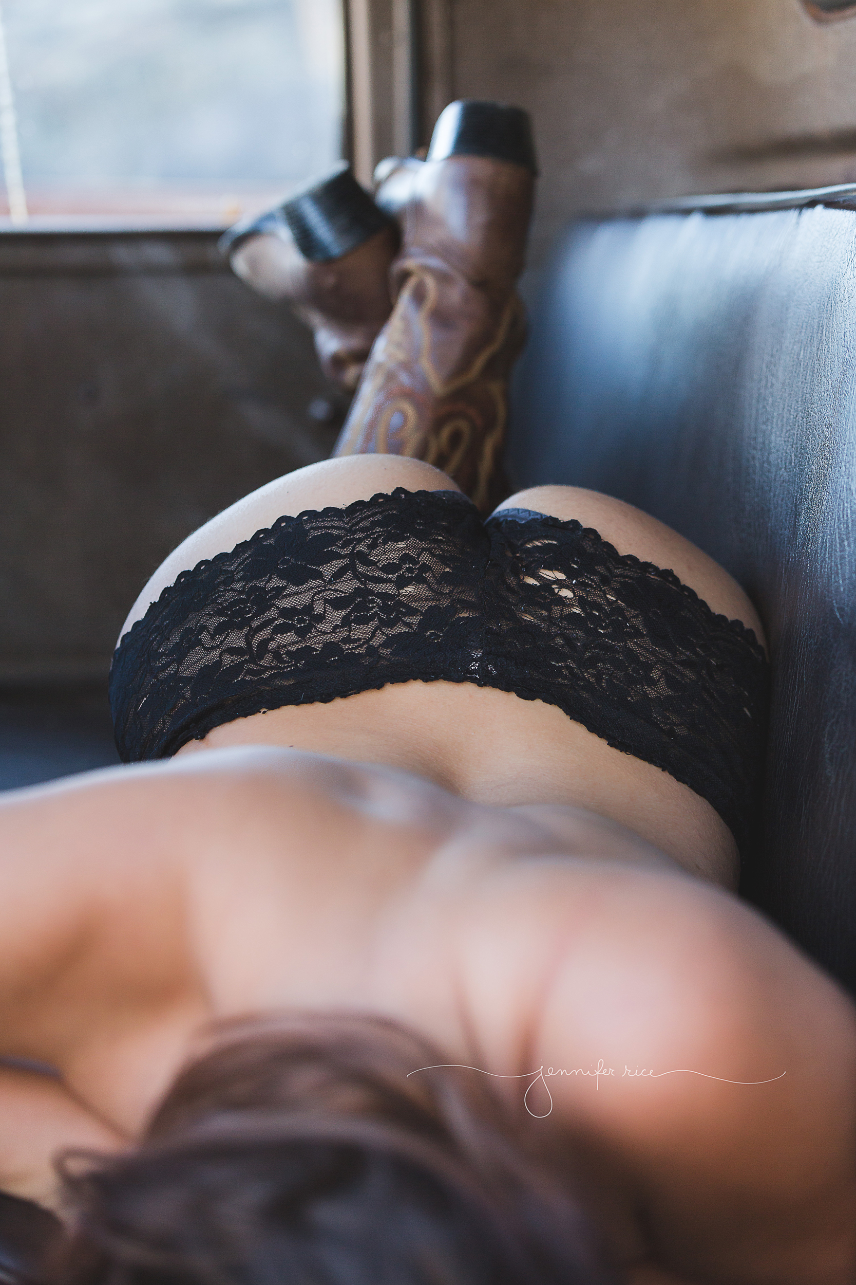 Country Boudoir Photography