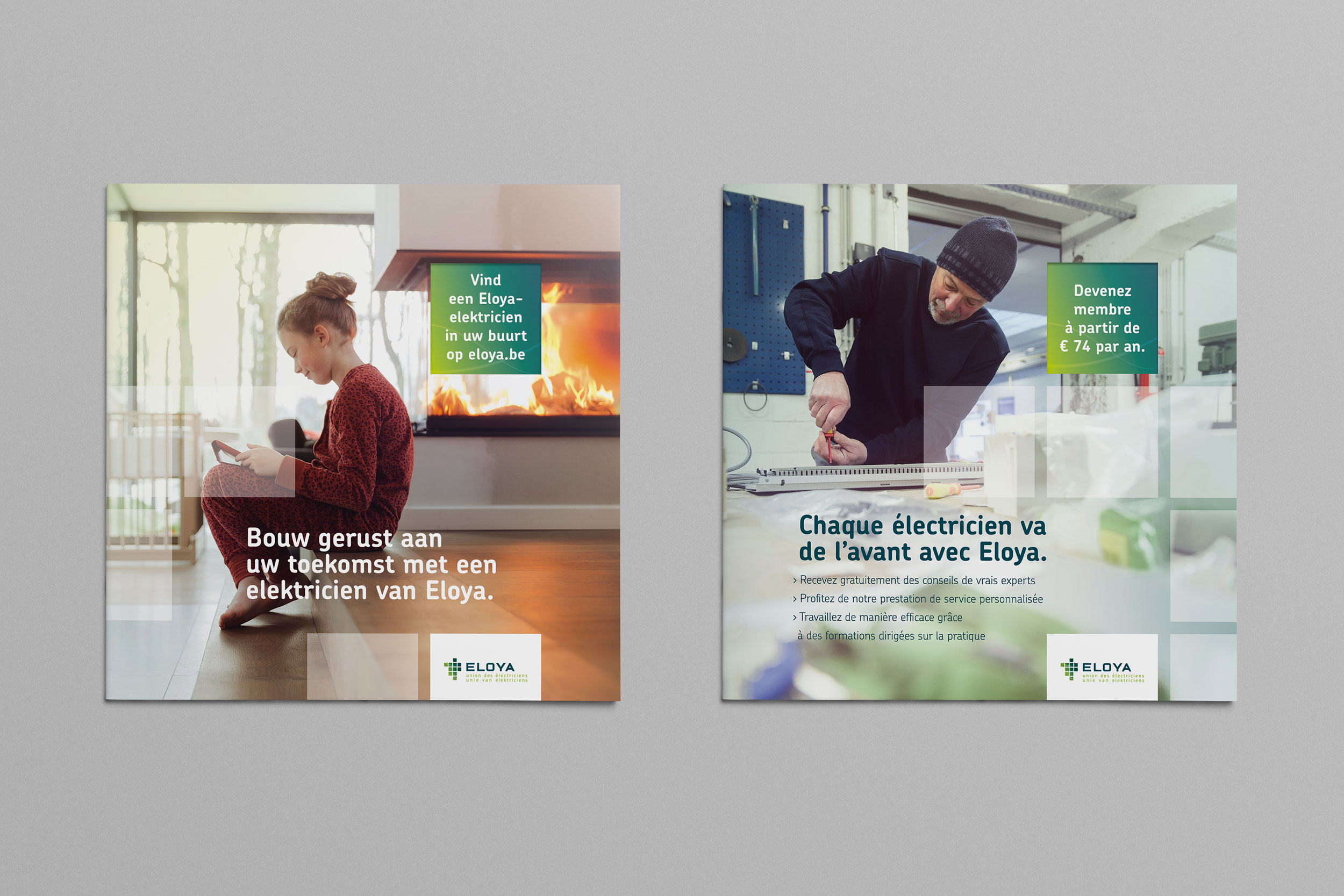 The Eloya brochures for consumers and professionals