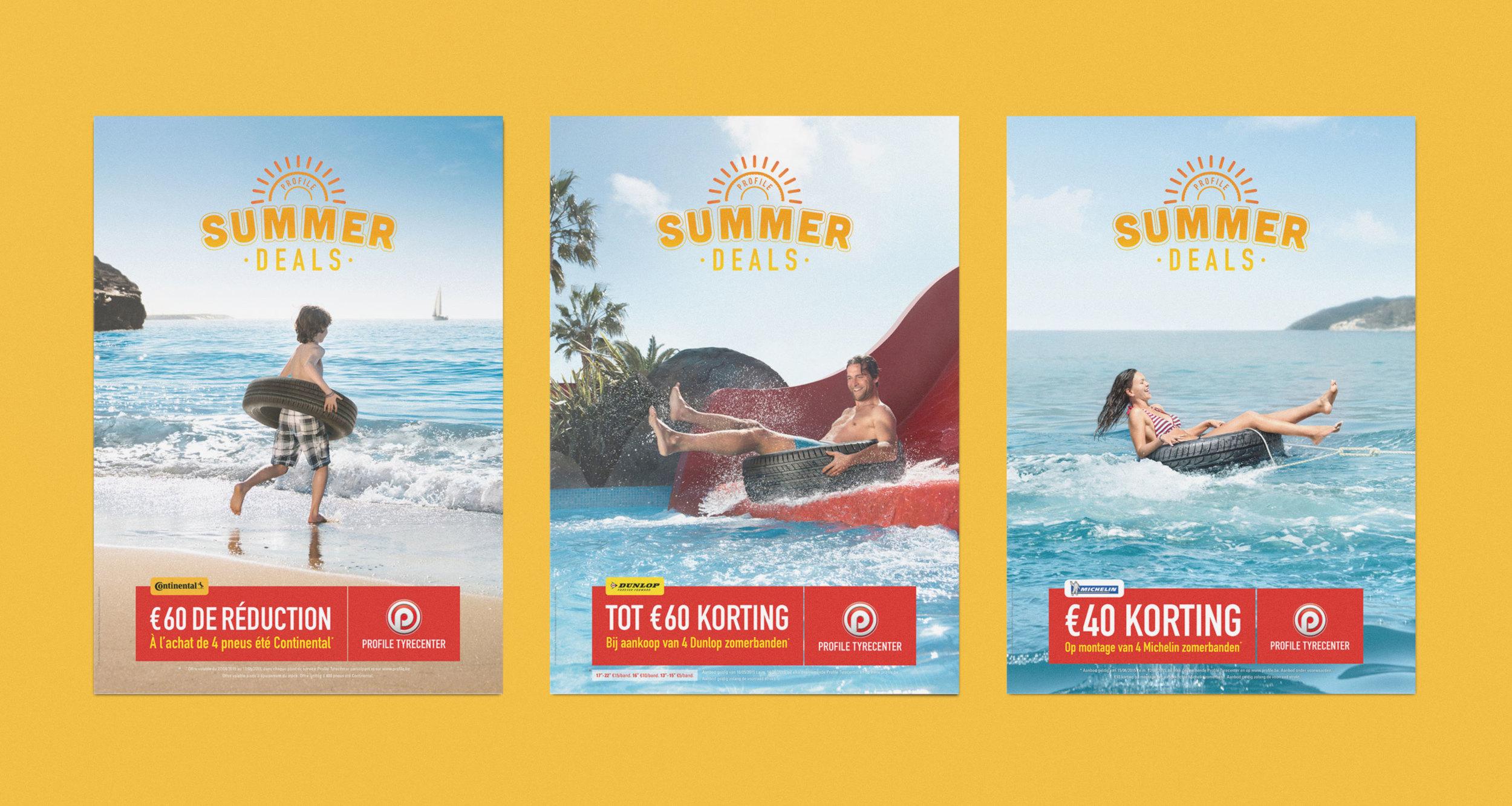 Profile Tyrecenter Summer Deals posters