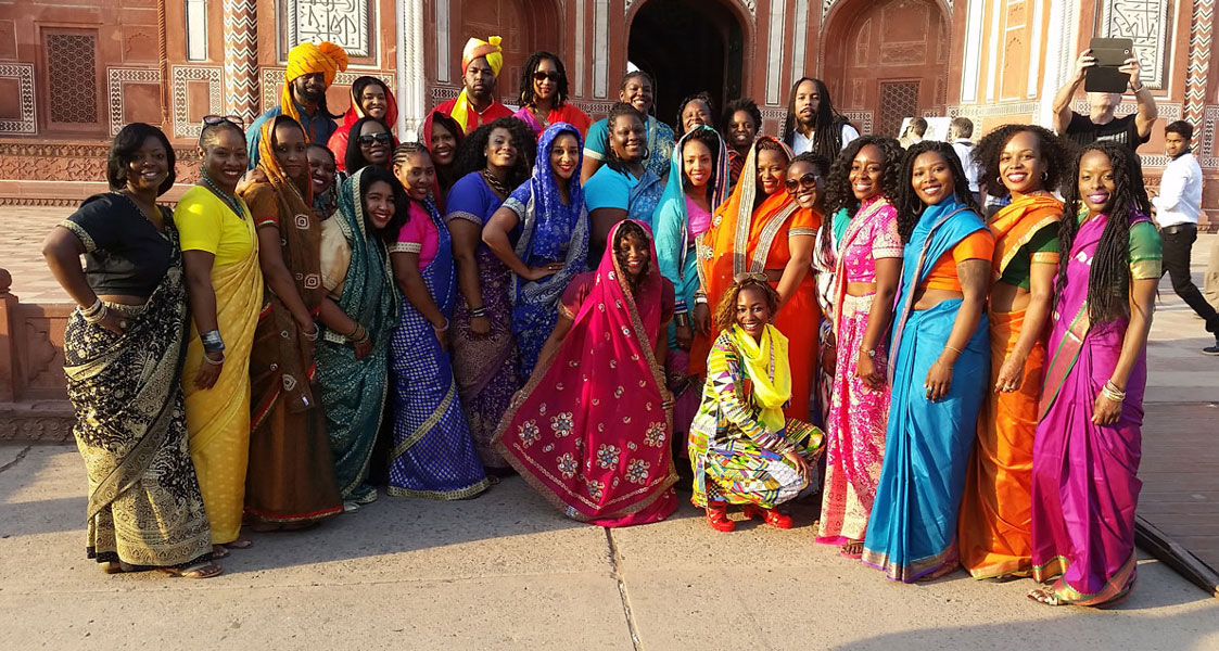 Agra, India :: Front Entrance to Taj Mahal :: India Nomadnessx Trip 2015