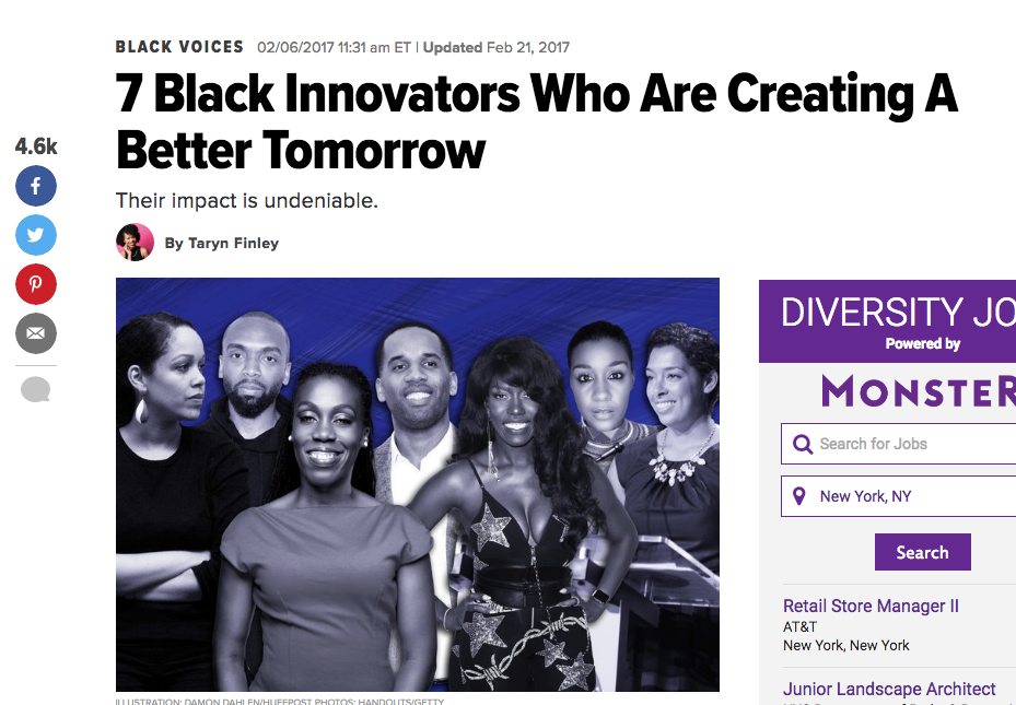 Huffington Post Black Voices                                                                                                        February 2017